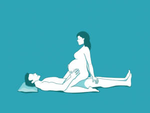 Are mistaken. Different sex positions during pregnancy not happens))))