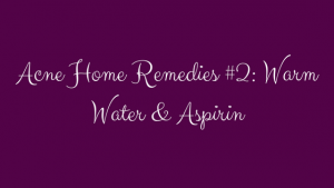 acne home remedies from dermatologists
