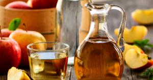 Drink apple cider vinegar as a natural solution to PCOS symptoms