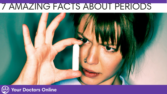7 Important Facts you Need to Know about your Period