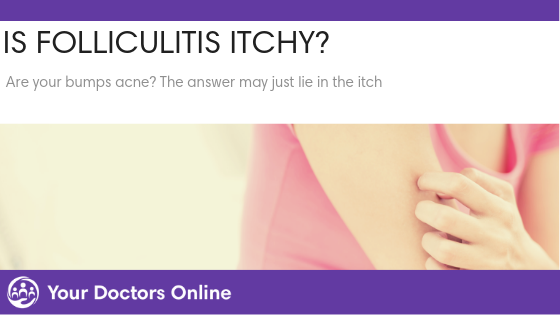 Is folliculitis itchy