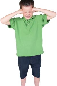 boy having a tantrum