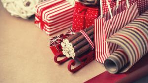 image of presents at christmas