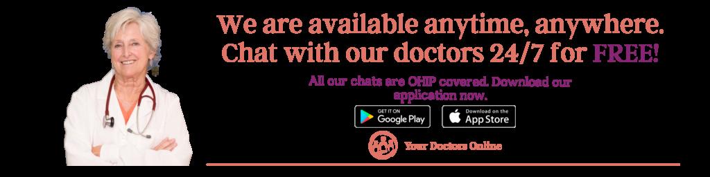 Online doctors for labor