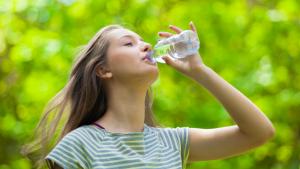 Drink plenty of fluids to avoid a UTI