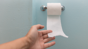Wipe front to back to avoid a UTI