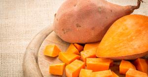 sweet potato is best food for healthy skin