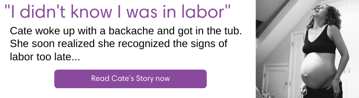 I didn't know I was in Labor your doctors online helped me