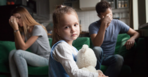 environmental stress, such as divorce, can lead to an early period