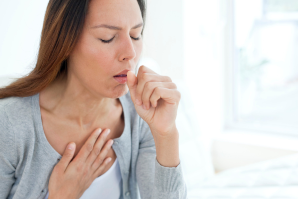 Coughing can occur after you quit smoking