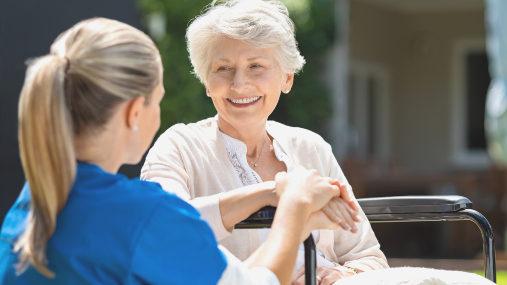 Telemedicine is a great advantage for elderly care