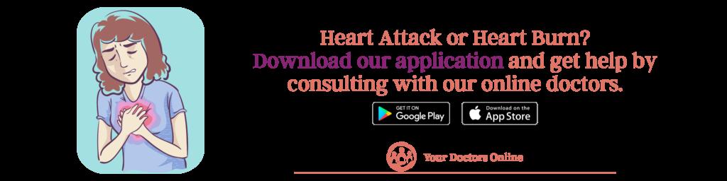 Online doctor for heartburn symptoms